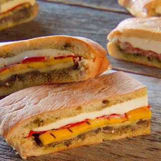 Italian Pressed Sandwiches.
