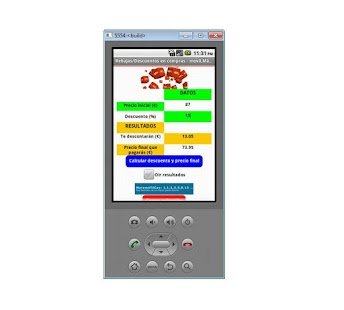 Rebajas/Descuentos-Matemáticas - screenshot thumbnail