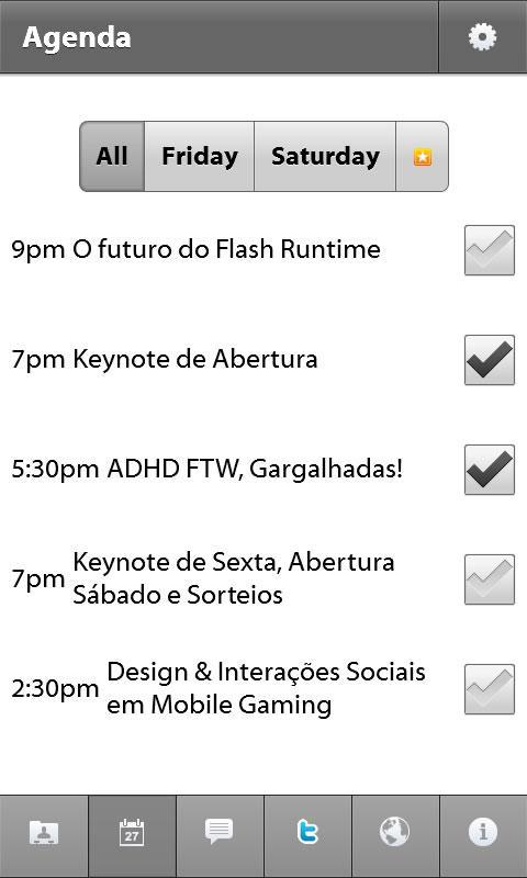 Flashcamp Brasil- screenshot