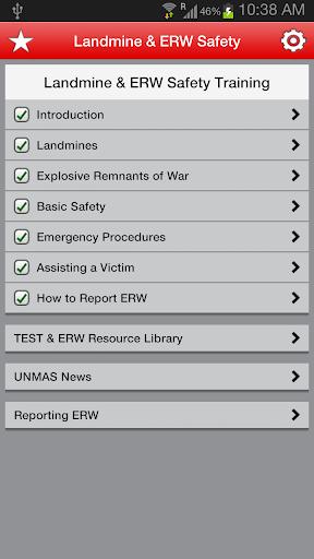 UNMAS Landmine ERW Safety