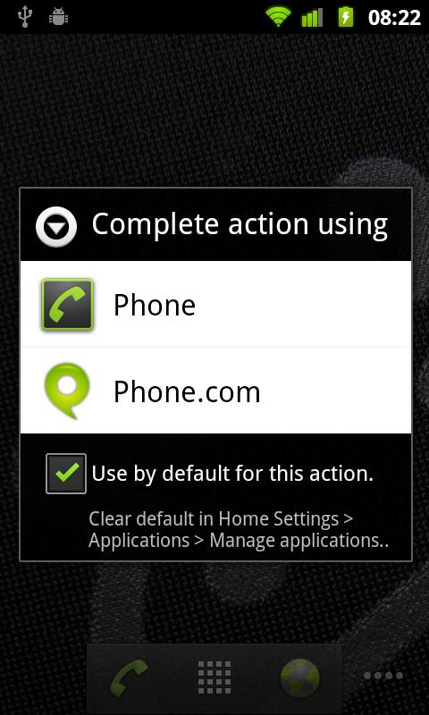 Phone.com - Mobile Office - screenshot