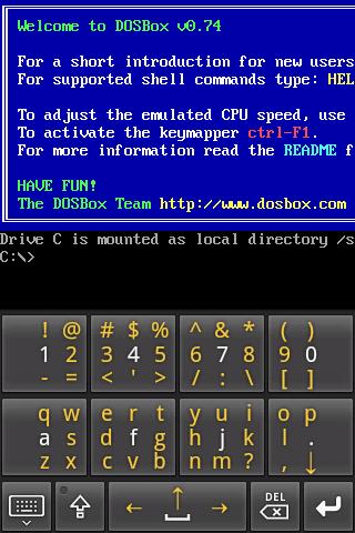AnDOSBox v1.2.8