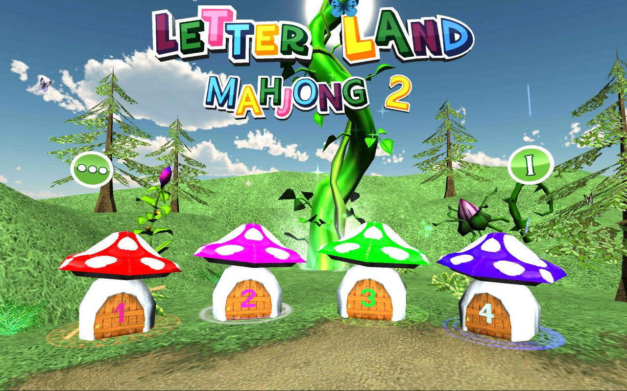 Letter Land Mahjong 2 - screenshot