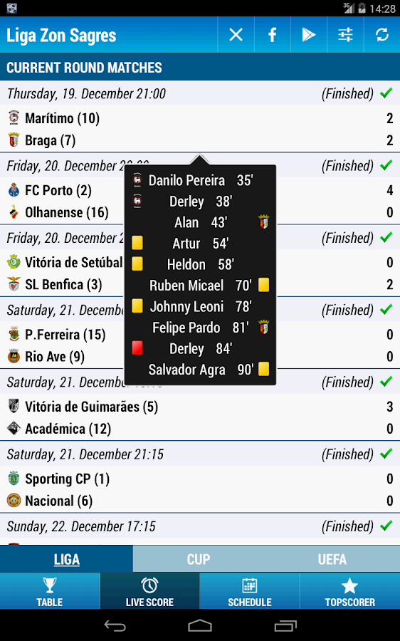 Liga Zon Sagres - screenshot