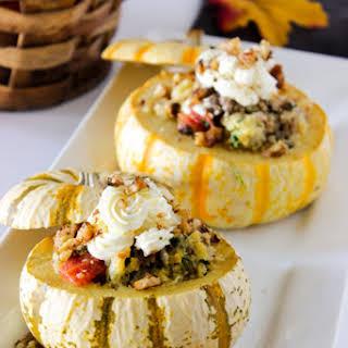Stuffed Mini Pumpkins.