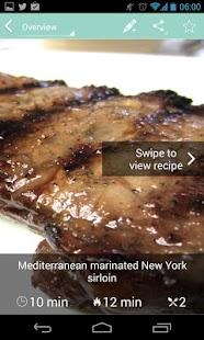 Caveman Feast - Paleo recipes - screenshot thumbnail