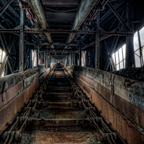 The Way In... by Dawn Robinson - Buildings & Architecture Decaying & Abandoned ( urban exploration, beauty in decay, ue, urban decay, abandoned coal breaker, abandoned,  )