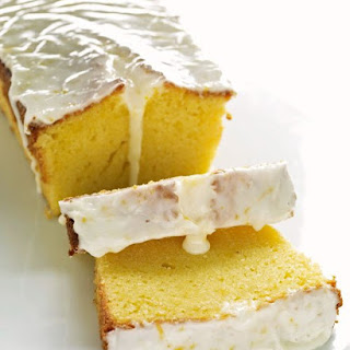 Meyer Lemon Pound Cake.
