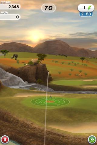 Flick Golf! Free - screenshot