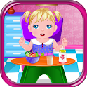 Baby Care Spa Girls Games icon