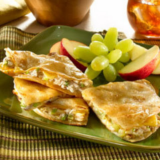 Tuna Quesadillas Americana Recipe