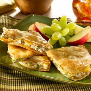 Tuna Quesadillas Americana.