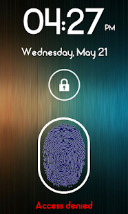 Fingerprint Lock Screen Plus - screenshot thumbnail