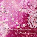 Cherry blossom  wallpaper free logo