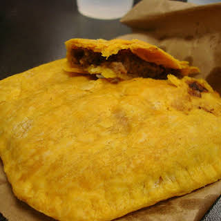 Jamaican Beef Patty.