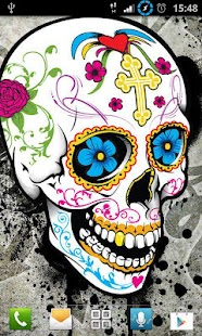 Girly Skull Wallpapers - screenshot thumbnail