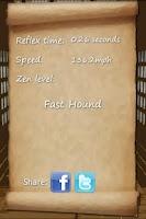 Screenshot of Reflex Dojo: How fast are you?