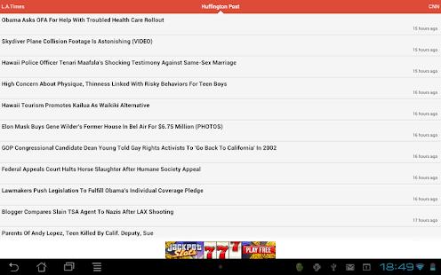 Fast News - screenshot thumbnail
