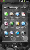 Screenshot of Next Launcher Luxury 3DD Theme