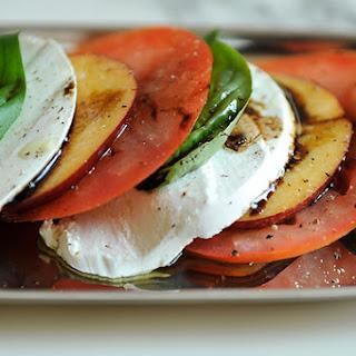 Tomato, Nectarine and Mozzarella Salad