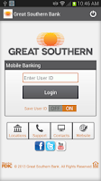 Screenshot of Great Southern Mobile Banking