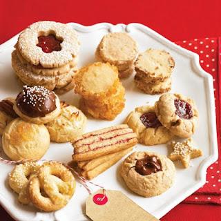 Pretzel Cookies.