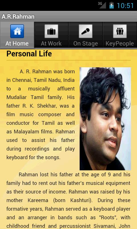 A R Rahman - screenshot
