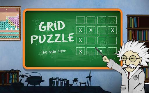 Grid Puzzle - Logic Brain Game