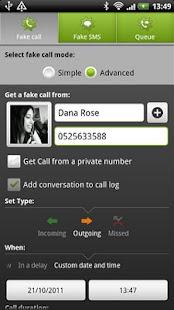 BOOM! Fake call and SMS- screenshot thumbnail
