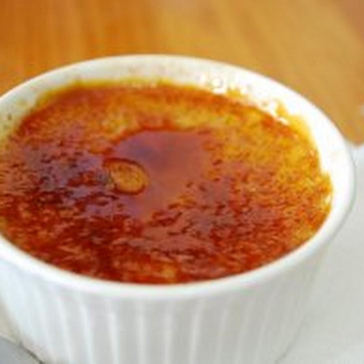 Basic Creme Brulee Recipe