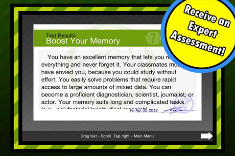 Boost Your Memory - screenshot