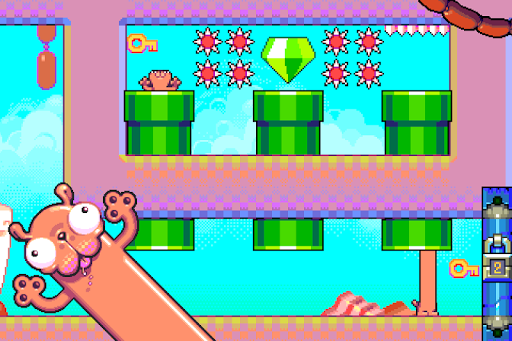Silly Sausage in Meat Land для планшетов на Android