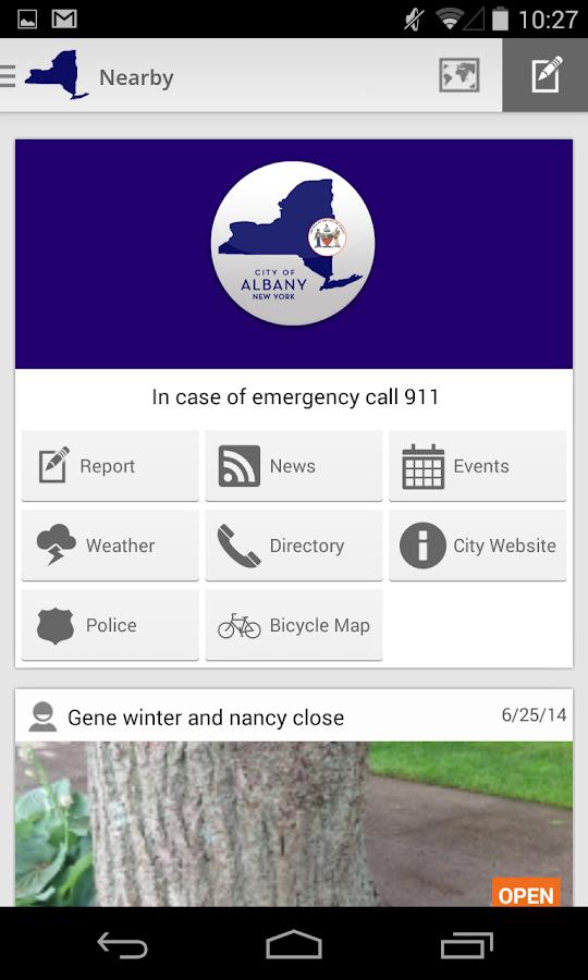 AlbanyWorks4U - screenshot