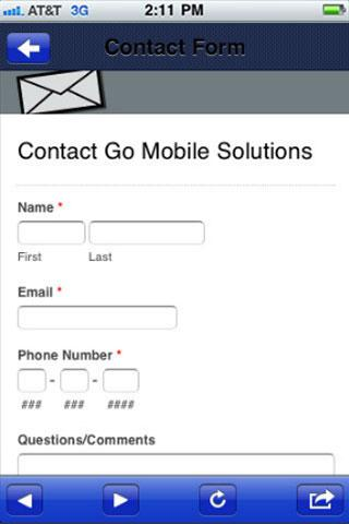 GoMobile Solutions - screenshot