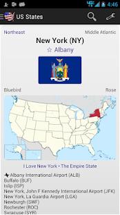 US States - náhled