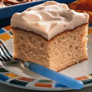 White Texas Sheet Cake.