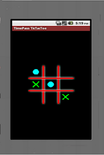 TimePass Bluetooth TicTacToe - screenshot thumbnail