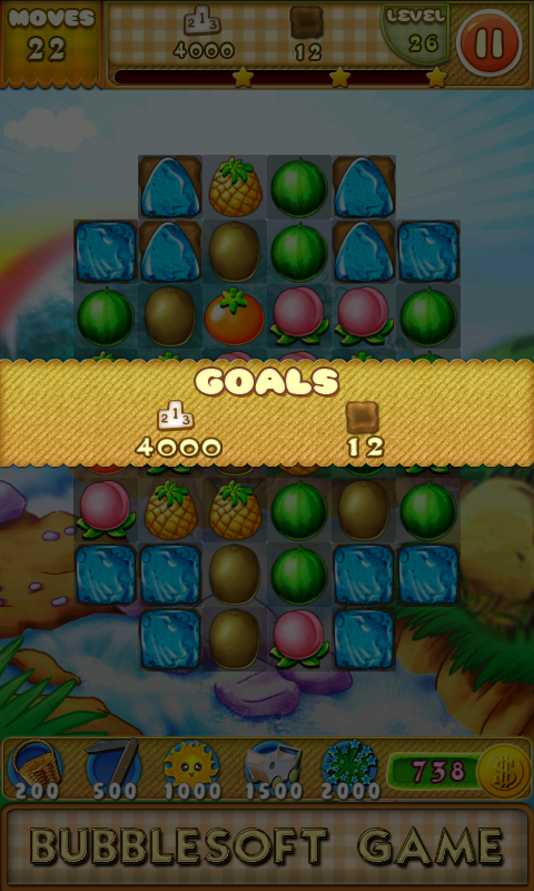 Fruit Crush 3- screenshot