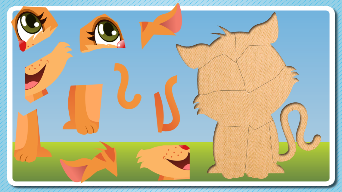 Puzzle For Toddlers -Kids Game - screenshot