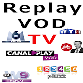 TV Replay VOD Chaines France