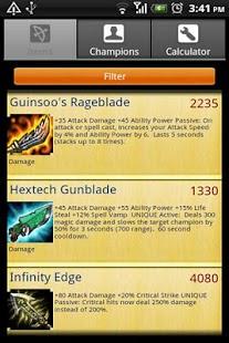 LoL Calc Lite - screenshot thumbnail