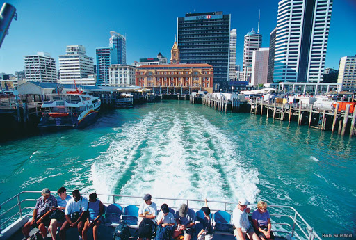 ferry_Auckland_to_Waiheke_Island - A ferry ride from downtown Auckland can take you to Waiheke Island, where life revolves around wine, food, beaches and outdoor adventures.