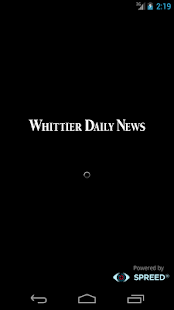 Whittier Daily News - screenshot thumbnail