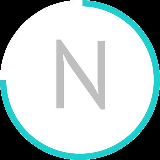 Neon Calendar Widget LOGO-APP點子