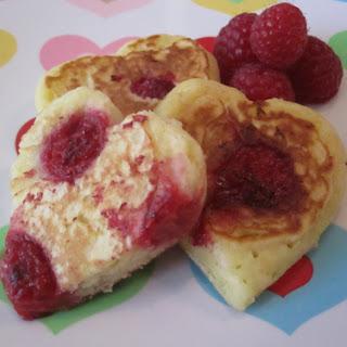 Raspberr-Wee Pancakes