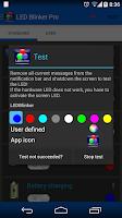 Screenshot of LED Blinker Notifications Lite