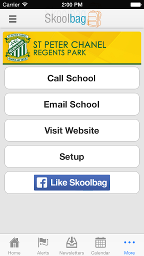 【免費教育App】St Peter Chanel Regents Park-APP點子