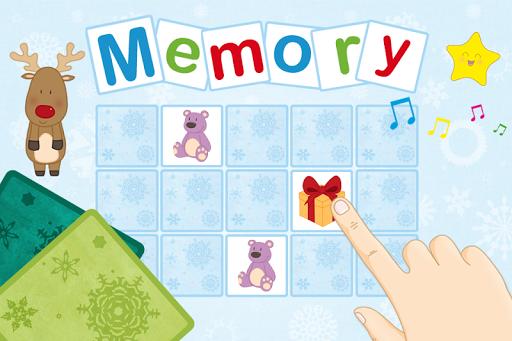 Christmas Memory Game for Kids