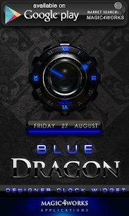 blue dragon GO Locker - screenshot thumbnail