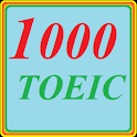 1000 TOEIC test; LC and RC logo